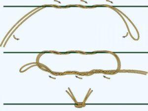 Как сделать регулируемый узел на леске видео