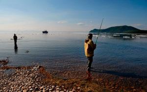 Ловим рыбу на байкале