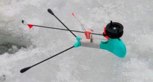 Самоподсекающая удочка для зимней рыбалки