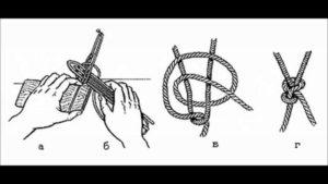 Узлы для сети из лески видео