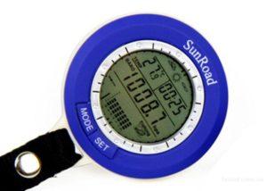 Мини барометр для рыбалки