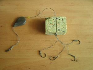 Как вязать жмых на сазана