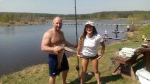 Платная рыбалка в шабрах