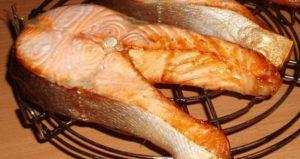 При какой температуре жарить рыбу в аэрогриле