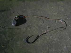 Снасть для ловли ската