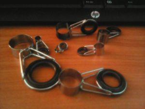Кольца для телескопической удочки своими руками