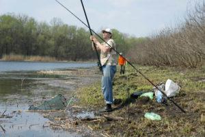 Ловля весной на поплавок