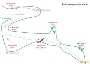 Как выбрать место для рыбалки на пруду