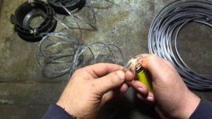 Что можно сделать из лески для триммера