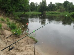 Ловля леща на малых реках