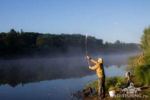 Рыбалка на реке ловать в сентябре