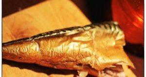 Красная рыба горячего копчения в духовке