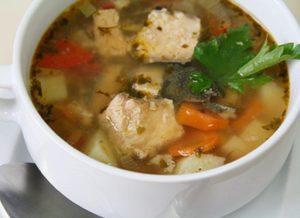 Как сварить суп из консервов семги