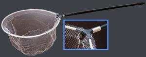 Как сделать подсак из телескопической удочки