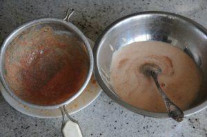 Как почистить икру сазана от пленки