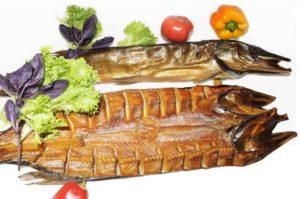 Балык горячего копчения из рыбы