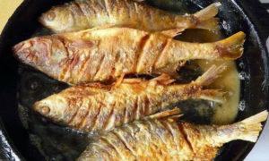Как почистить и пожарить рыбу