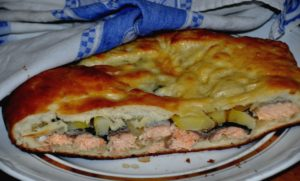 Начинка для пирога из щуки и риса