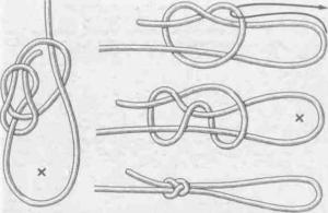 Как правильно завязать скользящий узел на леске