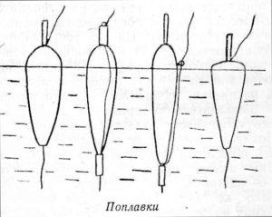 Как привязать поплавок к леске с ушком внизу без стопоров