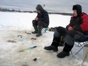 Ловля в конаково леща зимой