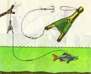 Летние жерлицы для ловли щуки своими руками