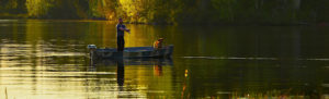 Истринское водохранилище рыбалка с лодки