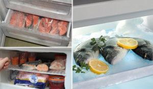 Сколько хранится форель соленая в холодильнике
