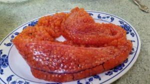 Как сделать красную икру из красной рыбы