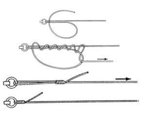 Как правильно привязать поводок на щуку к леске