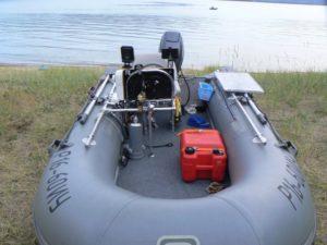 Оборудование лодки пвх для рыбалки своими руками