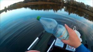 Ловля щуки осенью на бутылку