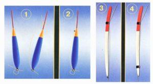 Как закрепить леску на поплавочной удочке