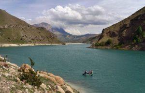 Гижгит озеро рыбалка