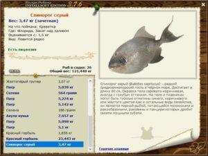 Русская рыбалка куба
