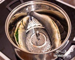 Сколько готовить рыбу на пару в кастрюле