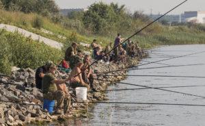 Рыбалка на солигорском водохранилище