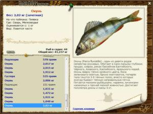 Русская рыбалка 2 свирь окунь
