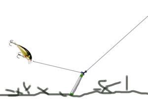Проводка воблера при троллинге