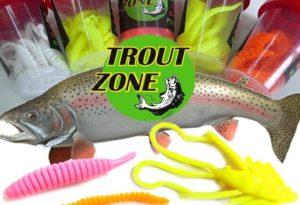 Trout zone силиконовые приманки варианты насадки на крючок