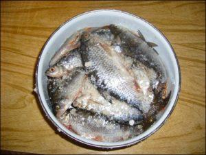 Сколько нужно солить речную рыбу