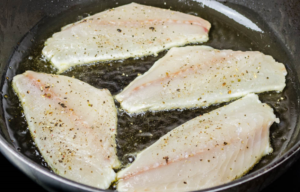 Как жарить филе рыбы без муки