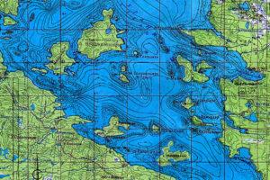 Пяозеро рыбалка карта глубин