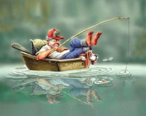 Забавные истории о рыбалке