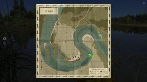 Русская рыбалка 4 волхов карта глубин