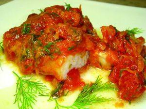 Как вкусно потушить филе рыбы