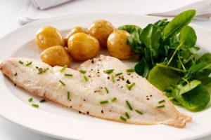 Рыба треска вареная калорийность