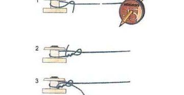 Как намотать леску на простую катушку удочки